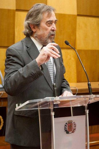 El Alcalde de Zaragoza durante Debate de la Ciudad