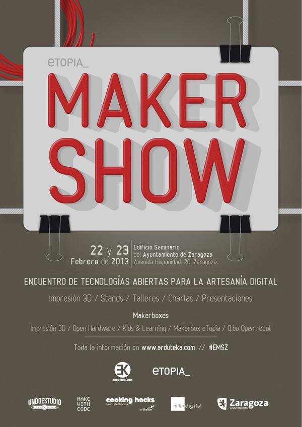 etopia maker show zaragoza comunica