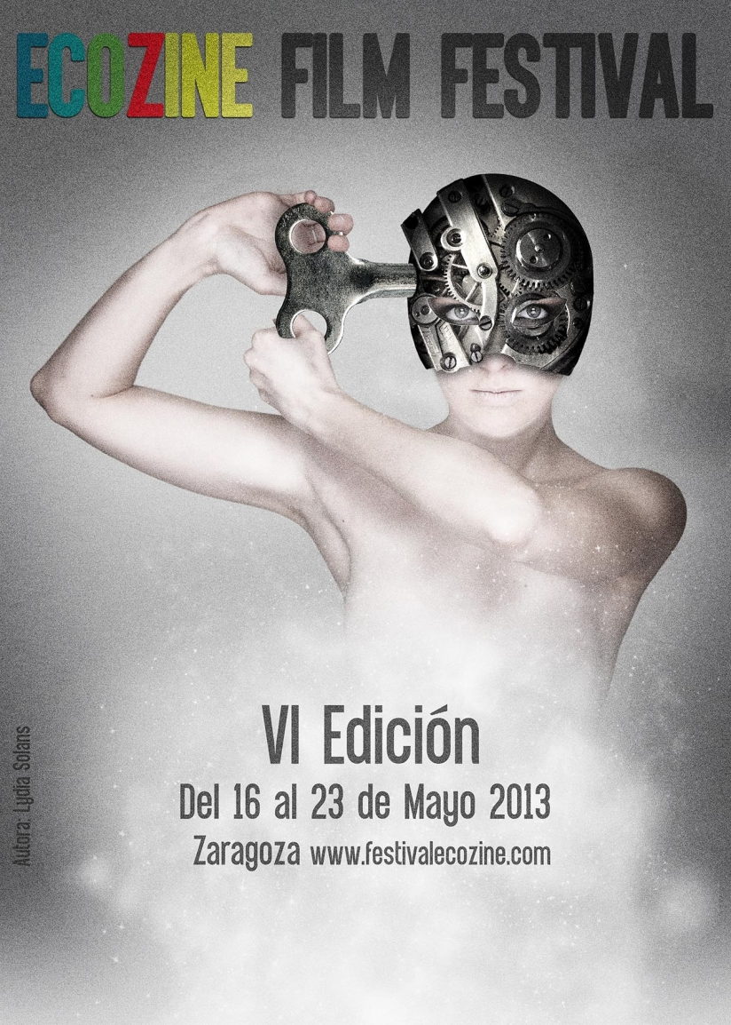 """Cartel de la VI edición del Festival Internacional """"EcoZine"""""""