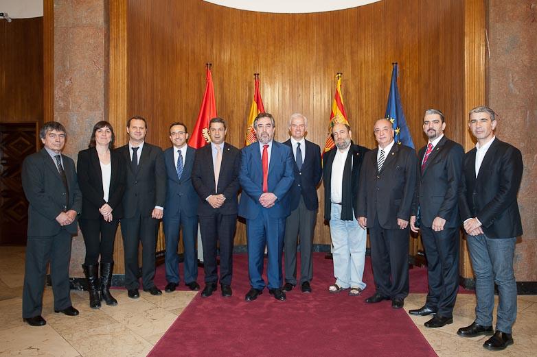 Visita delegación de Brasil y Argentina