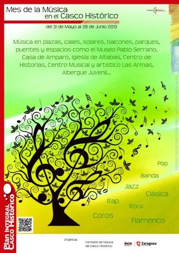Cartel mes musica 2013