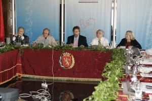 Saskia Sassen en el comité de expertos en Zaragoza