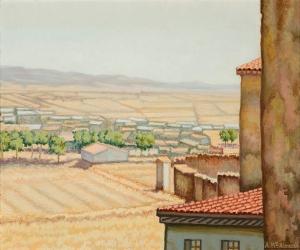 Paisaje de Cubel, 1988