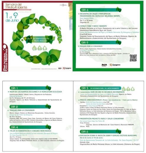 Programa Semana del Medio Ambiente en el Casco Histórico