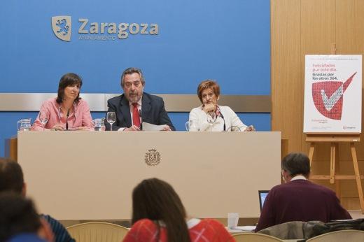 Presentación del Día del Voluntariado por Zaragoza