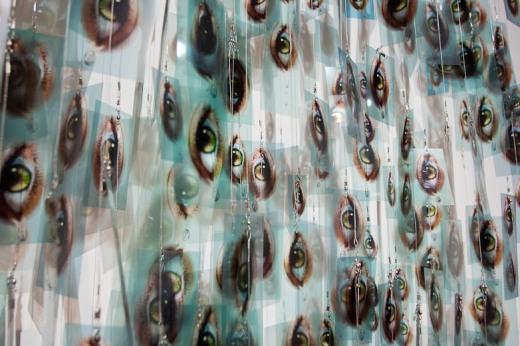 obra de la exposición El Mundo Fluye