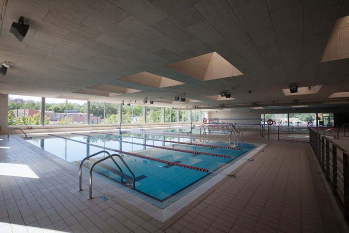 Piscina Jose Garces Of Deporte Base Zaragoza Comunica