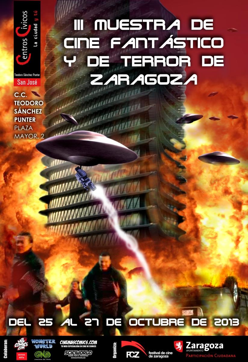 Cartel de la III Muestra de Cine Fantástico y de Terror