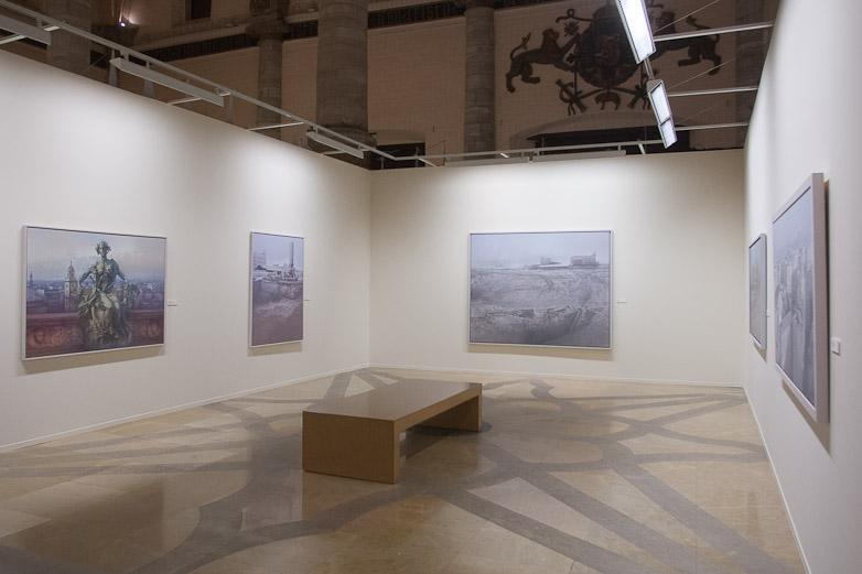 Eduardo Laborda, en su exposición en La Lonja