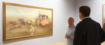 exposición Eduardo Laborda en La Lonja