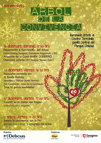 Arbol de la Convivencia en Delicias