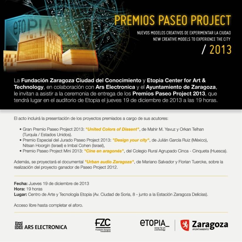 Invitación Paseo Project