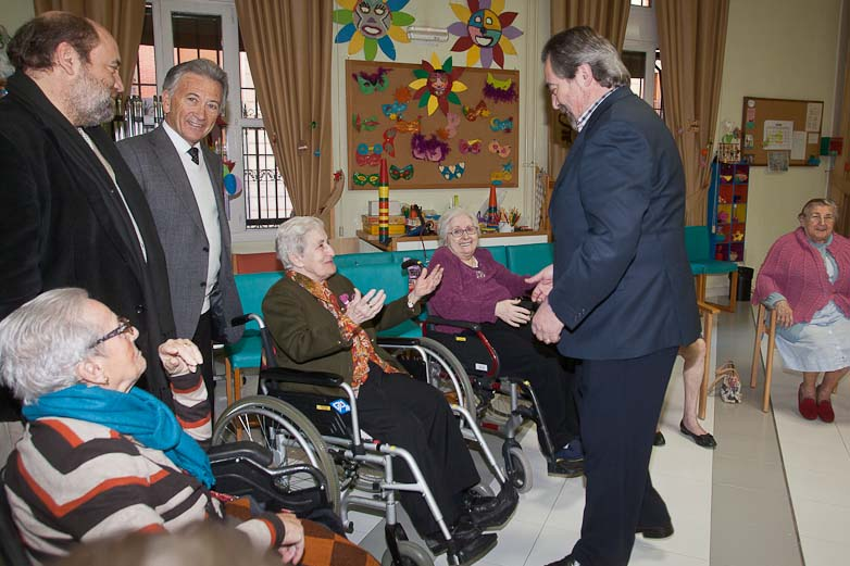 Visita del Alcalde a la Casa Amparo