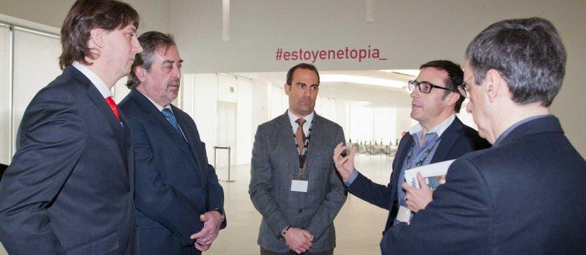 d_Visita del Alcalde de Zaragoza y Alcalde de Soria a Etopia