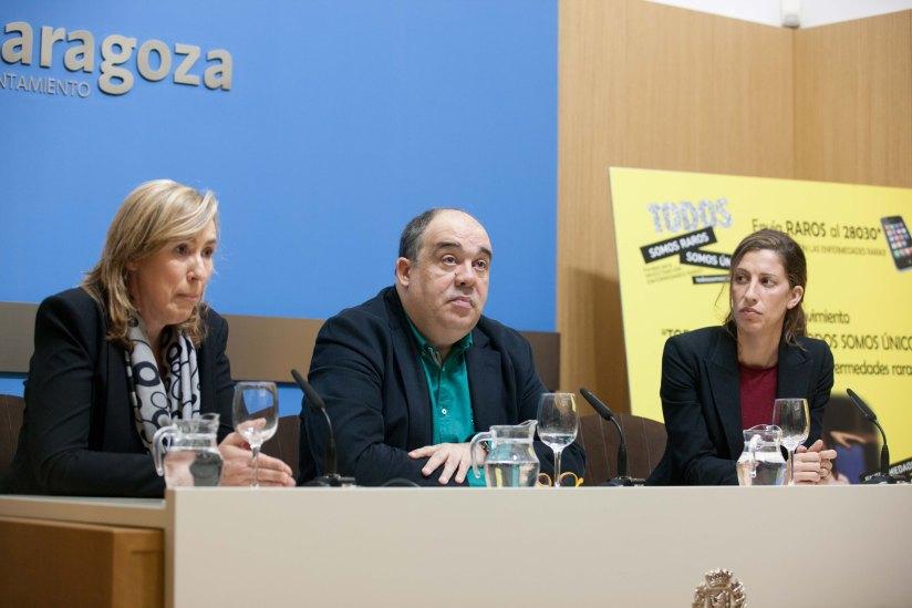 Presentacion campaña sensibilizacion todos somos raros todos somos unicos Zaragoza