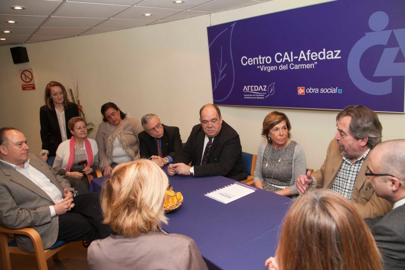 Alcalde de Zaragoza visita Afedaz