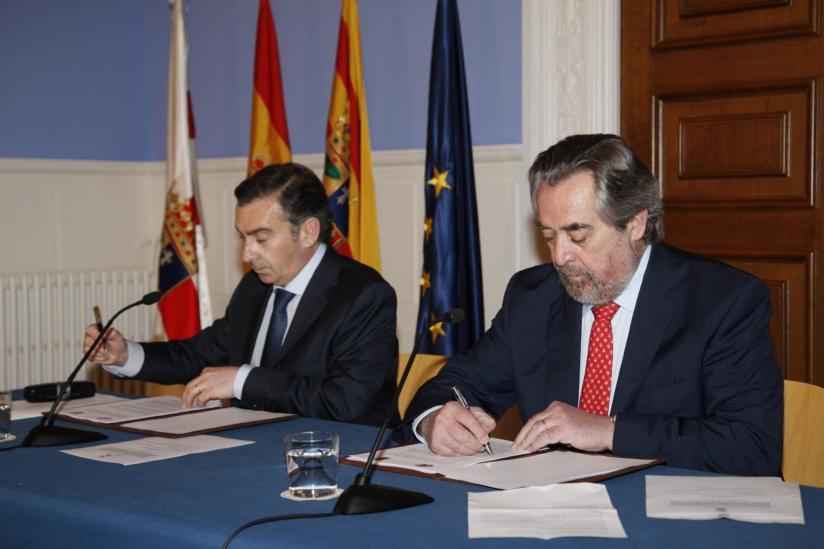 Firma del convenio DPZ